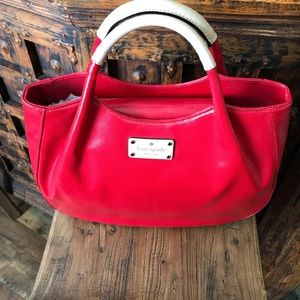 Kate Spade ♠️ red patent leather bag